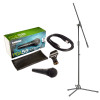 Shure PGA58-XLR Handheld Dynamic Microphone inc. Cable and Stand