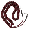 Fender Professional Instrument Coil Cable 30ft Red Tweed