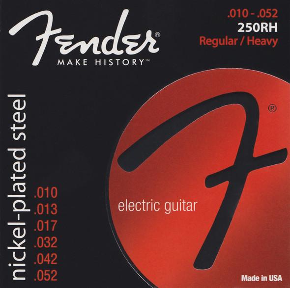 Fender 250RH Electric Guitar Strings Gauge 10-52