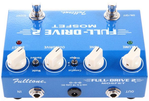 Fulltone FullDrive2-Mosfet Overdrive Distortion Pedal
