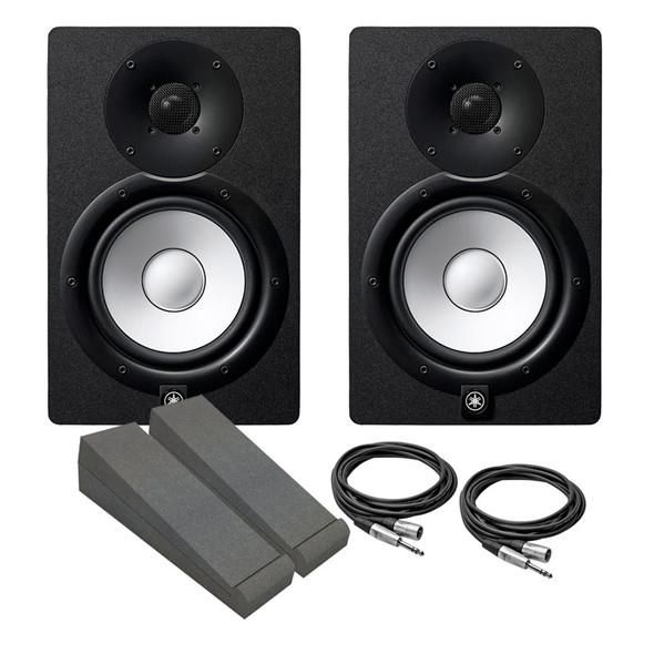 Yamaha HS7 Active Studio Monitor Bundle