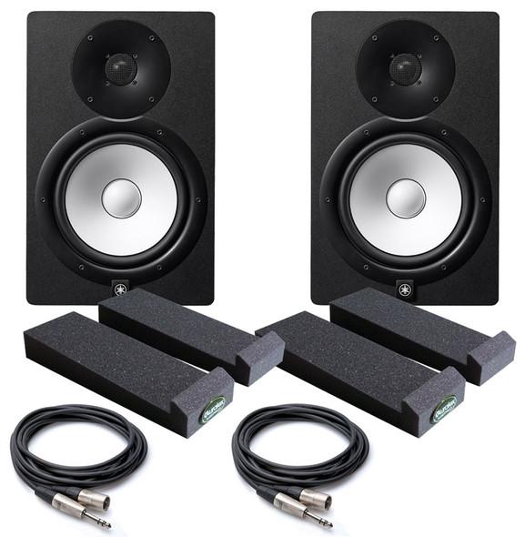Yamaha HS8 Active Studio Monitor Bundle