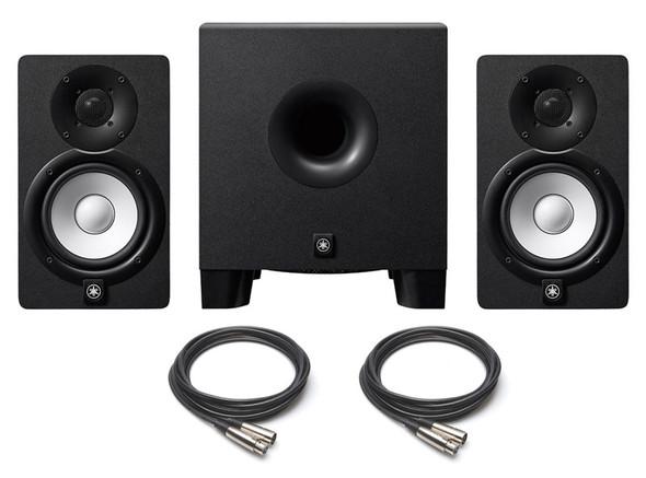 Yamaha HS5 Active Monitors and HS8S Sub Bundle