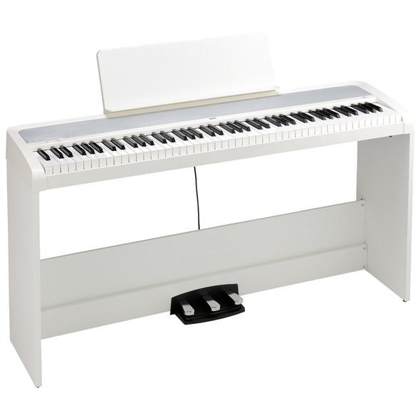Korg B2 Digital Piano Set, White