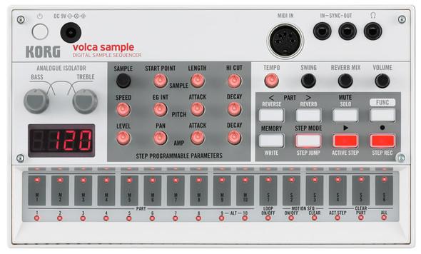 Korg Volca Sample Digital Sampling Sequencer   (Ex-Display)