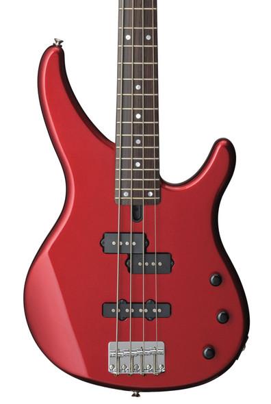 Yamaha TRBX174 Bass Guitar, Red Metallic