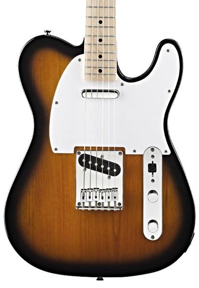 Fender Squier Affinity Telecaster Electric Guitar, 2-Tone Sunburst, Maple