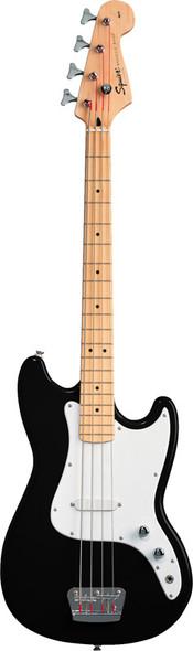 Fender Squier Affinity Bronco Bass Guitar, Black, Maple
