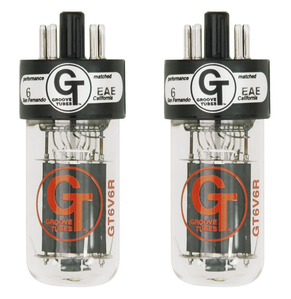Groove Tubes GT-6V6-R Power Valves, Matched Pair, Medium Rating