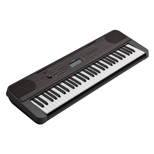 Yamaha PSR-E360DW 61 Note Portable Keyboard, Dark Walnut