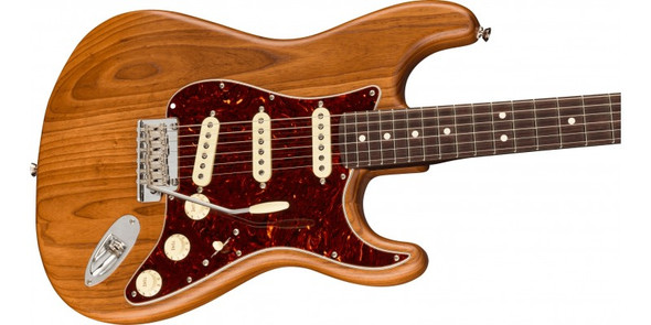 Fender Limited Edition American Pro Stratocaster Natural Ash Body, Rosewood