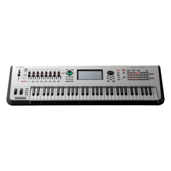Yamaha Montage 6 Synthesizer, Limited Edition White