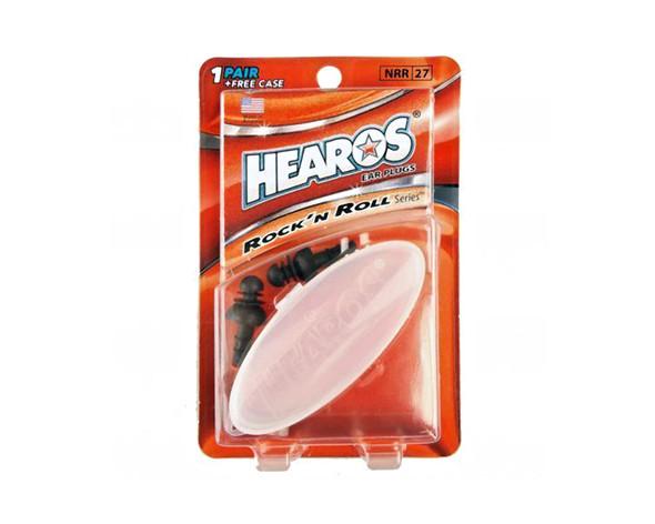 Hearos H309 Rock & Roll Earplugs with FREE case