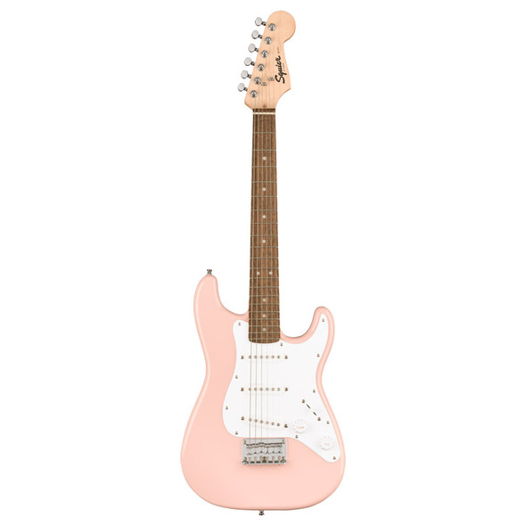 Fender Squier Mini Stratocaster, Shell Pink
