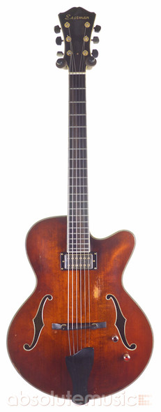 Eastman AR803CE Archtop Hollow Body Jazz Electric Guitar with Hard Case (Pre-Owned)