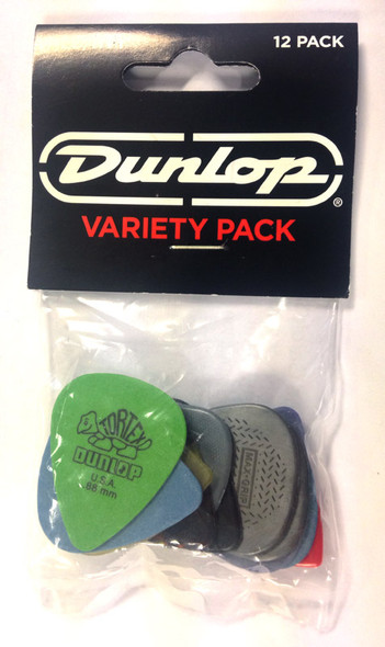 Dunlop Variety Pack 2, 12 Assorted Plectrums