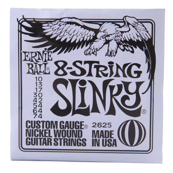 Ernie Ball 8-String Slinky Electric Guitar Strings, 10-74