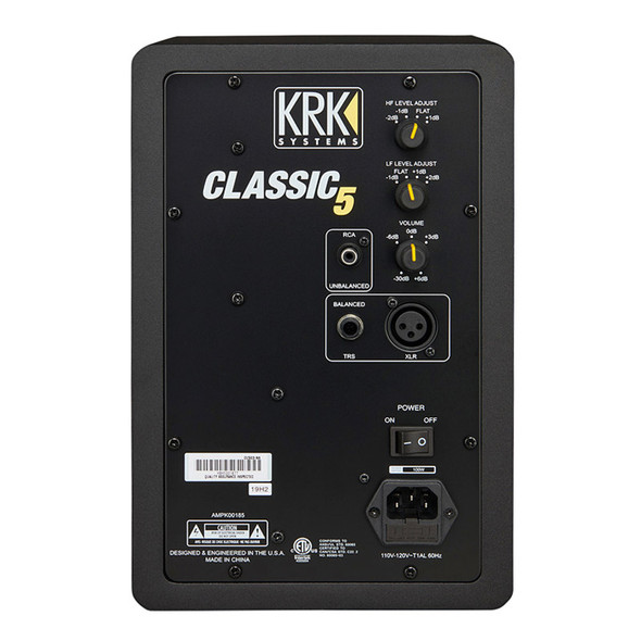 KRK Classic 5 Professional Studio Monitor (Single)