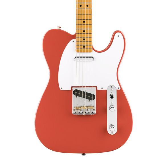 Fender Vintera 50s Telecaster, Fiesta Red, Maple