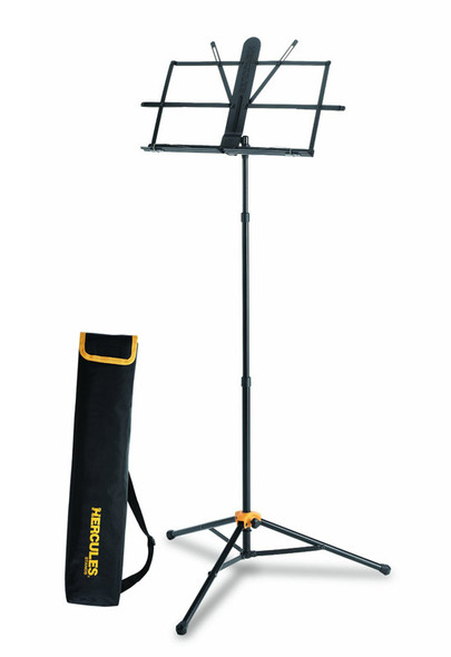 Hercules BS118BB Sheet Music Stand With EZ Grip And Carry Bag