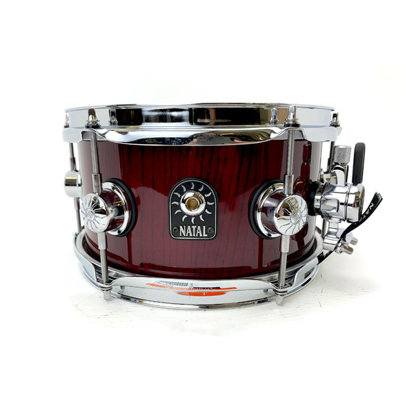 Natal Stave 10 x 5.5 inch Ash Snare Drum in Red