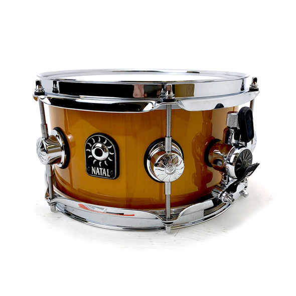 Natal Stave 10 x 5.5 inch Maple Snare Drum in Amber