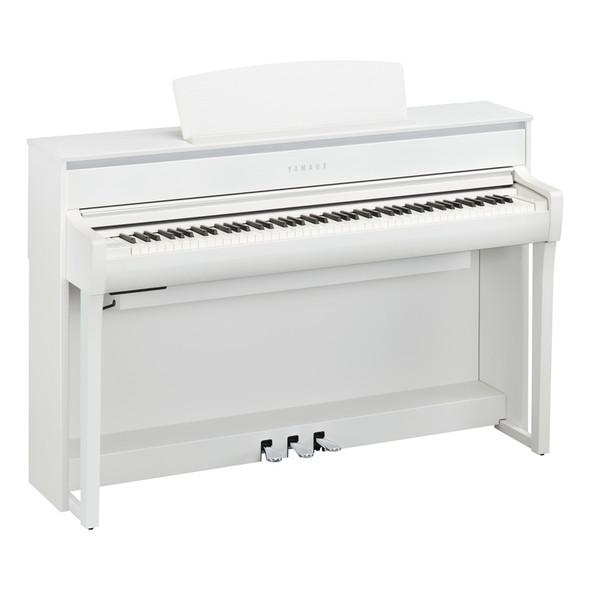 Yamaha CLP-775WH Clavinova Digital Piano, White