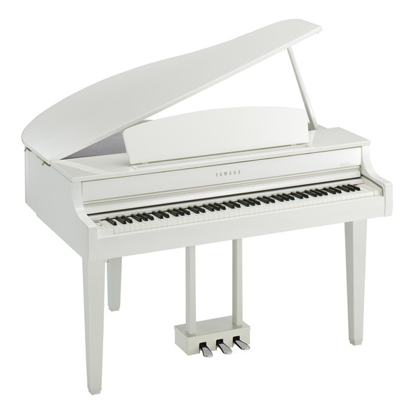 Yamaha CLP-765GPPWH Clavinova Digital Grand Piano, Polished White