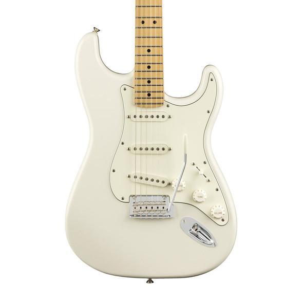 Fender Player Stratocaster Electric Guitar, Polar White, Maple