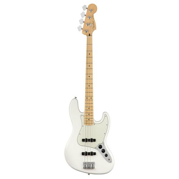 Fender Player Jazz Bass Guitar, Polar White, Maple