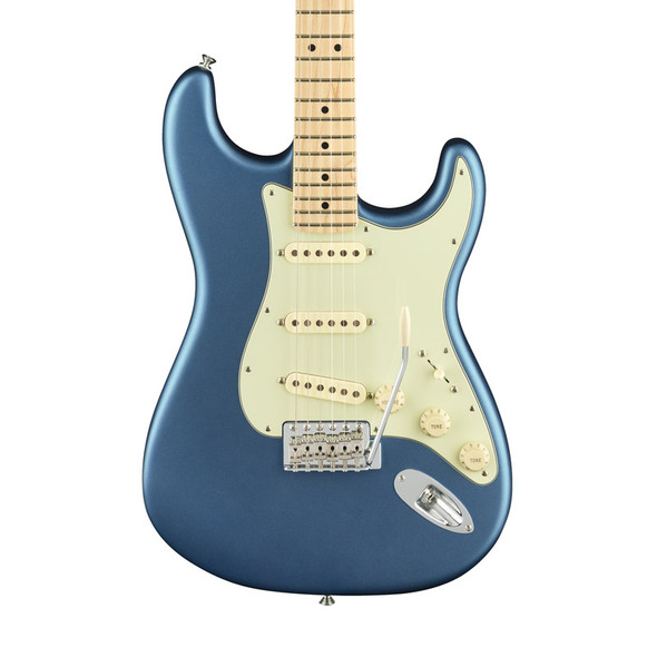 Fender American Performer Stratocaster Electric Guitar, Satin Lake Placid Blue, Maple
