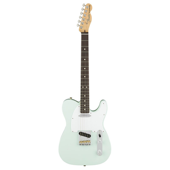 Fender American Performer Telecaster Electric Guitar, Satin Sonic Blue, Rosewood