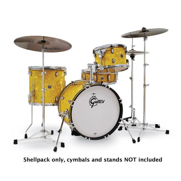 Gretsch CT1-J484-YSF Catalina Club Ltd Shellpack, Yellow Satin Flame