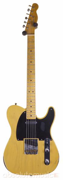 Fender Custom Shop Ltd Ed 70th Ann Broadcaster Relic, Aged Nocaster Blonde