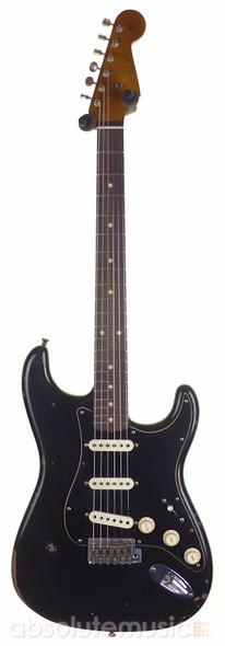Fender Custom Shop Ltd Ed Roasted Poblano Relic Stratocaster, Aged Black