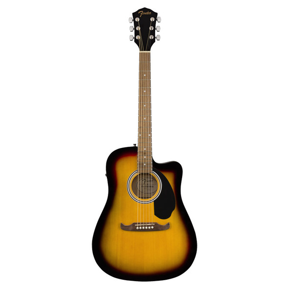 Fender FA-125CE Dreadnought Electro- Acoustic Guitar, Sunburst