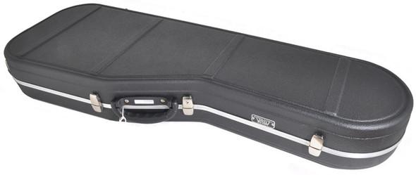 Hiscox STD-ES-B/S Standard Electric Guitar Case (PRS Style) - Black/Silver