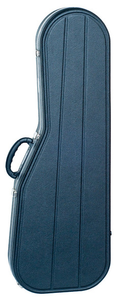 Hiscox STD-SG-B/S Standard Electric Guitar Case (SG Style) - Black/Silver