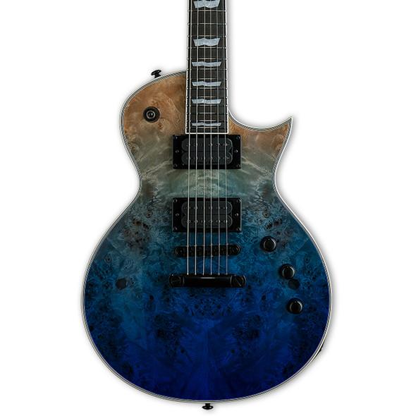 ESP LTD EC-1000 Electric Guitar, Blue Natural Burst