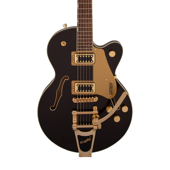 Gretsch G5655TG Electromatic Center Block JR Electric Guitar, Black Gold