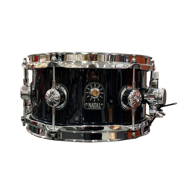 Natal Stave 10 x 5.5 inch Maple Snare Drum in Black