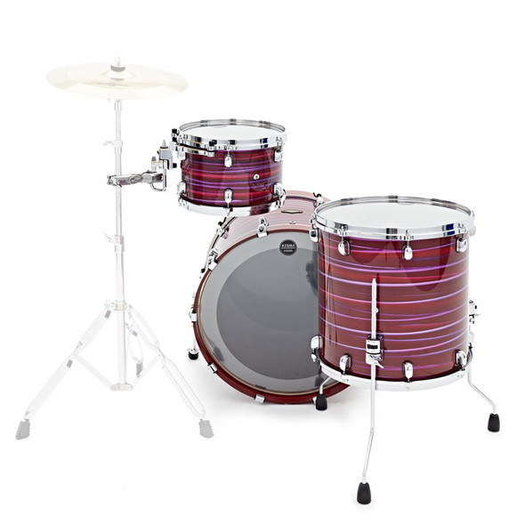 Tama Starclassic Walnut/Birch 3 Piece Shell Pack in Lacquer Phantasm Oyster