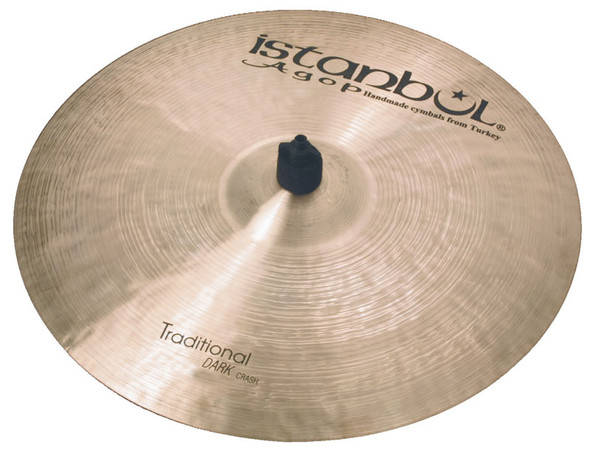 Istanbul Traditional 22 Inch Dark Crash Cymbal