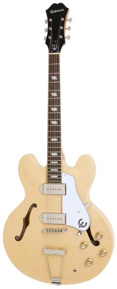 Epiphone Casino Semi Acoustic Electric Guitar, Natural