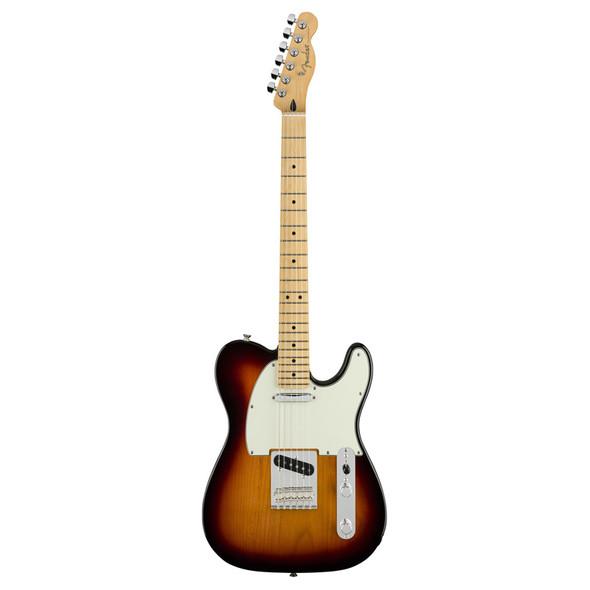 Fender Player Telecaster Electric Guitar, 3-Colour Sunburst, Maple