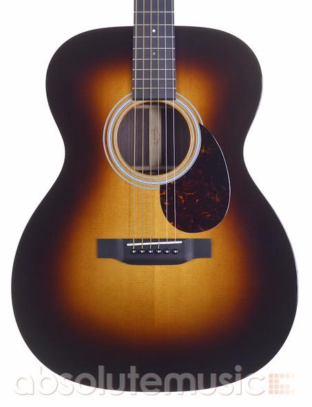 Martin OM-21 Acoustic Guitar, Sunburst with Hard Case (Pre-Owned)