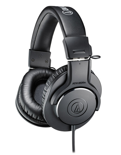 Audio Technica ATH-M20x Closed Back Headphones   (as new)