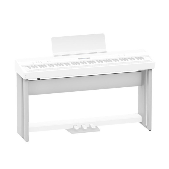 Roland KSC-90-WH Wooden Stand For FP-90 Piano, White
