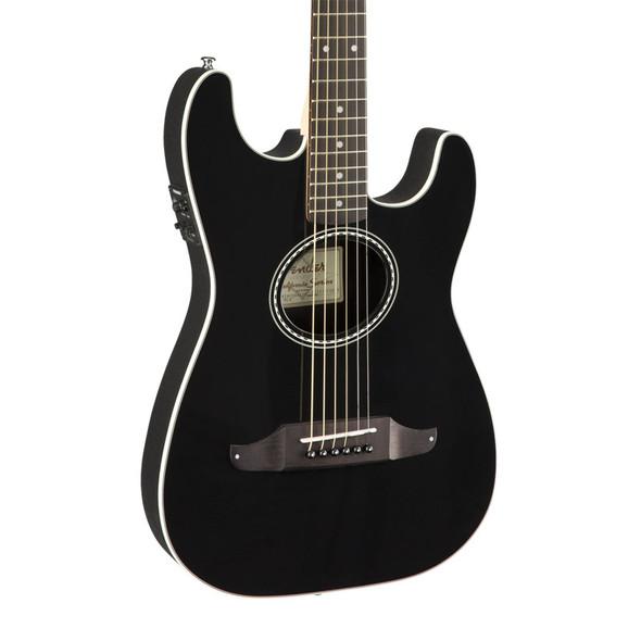 Fender Standard Stratacoustic Electro-Acoustic Guitar, Black