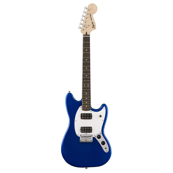Fender Squier Bullet Mustang HH Electric Guitar, Imperial Blue